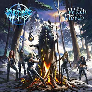 """Ο δίσκος των Burning Witches """"The Witch of the North"""""""
