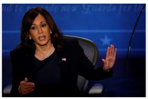 Harris, Pence clash over Trump's Coronavirus record in US VP debate