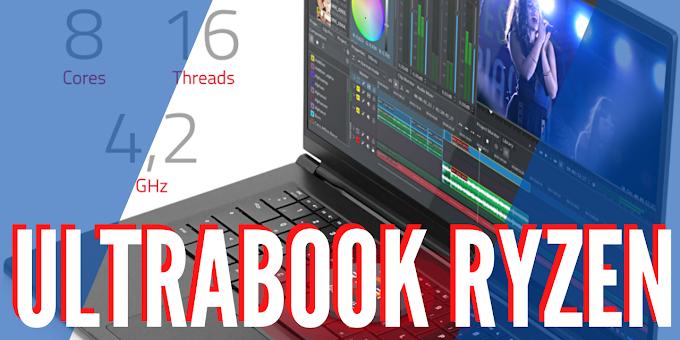 Novo Ultrabook com Linux e AMD Ryzen série 4000H