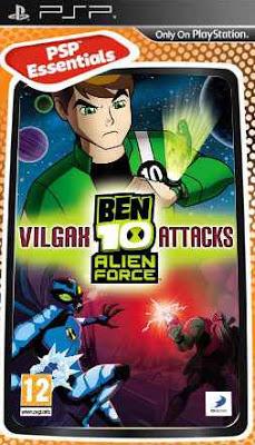 ben 10 alien force psp game free download