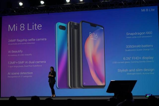 Spesifikasi Xiaomi Mi 8 Lite dan Harganya Lengkap