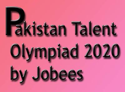 Pakistan Talent Olympiad (Punjab) 2020 by jobees