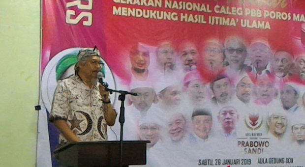 Caleg PBB Dukung Prabowo-Sandi