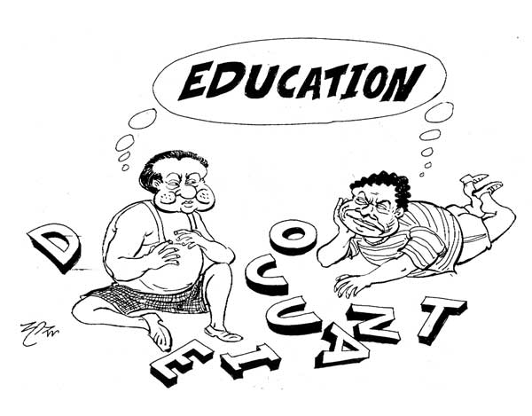 Chandima Gomes: GOOD EDUCATION & BAD ECONOMY
