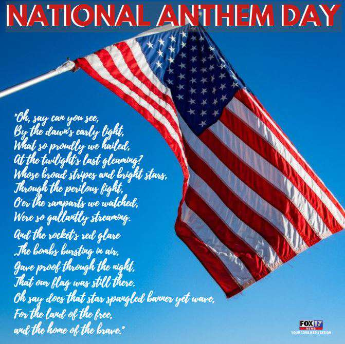National Anthem Day Wishes Awesome Picture
