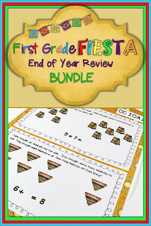 Standards based math review for first grade - includes teaching tools and practice for all math standards