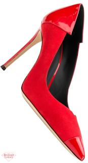 Giuseppe Zanotti patent leather stiletto pumps #brilliantluxury