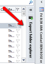 Drag and drop email conversion from MS Outlook.