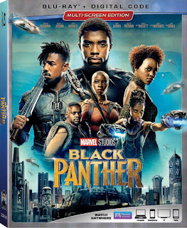 Marvel Studios Black Panther on Blu-ray