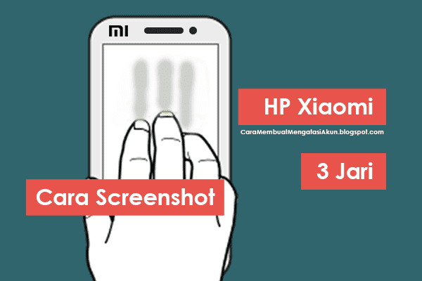 cara screenshot hp Xiaomi