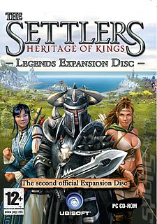 The Settlers Heritage Of Kings Legends [Expansion Disc] PC