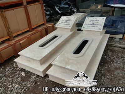 Makam Batu Marmer, Makam Dari Marmer, Makam Keramik Marmer