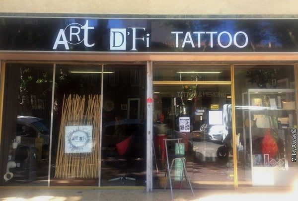 Salon de tatouages Art D'Fi Tattoo à Marseille