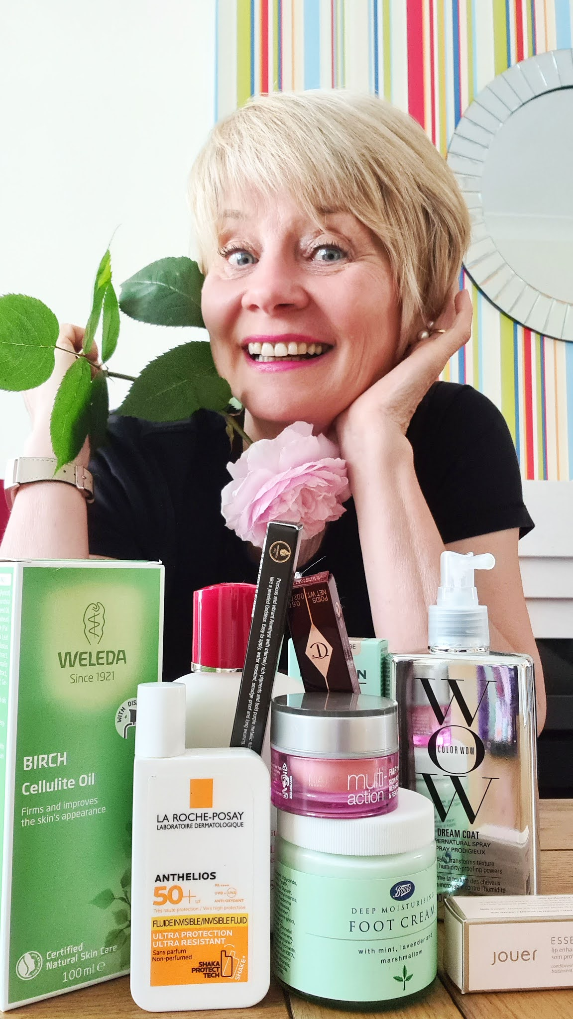 The beauty products Gail Hanlon from over-50s style blog Is This Mutton has used five times or more