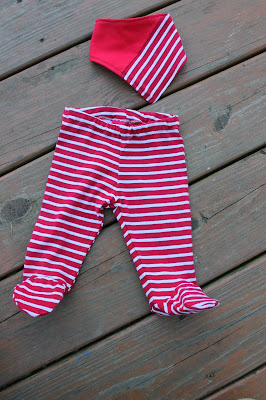 footed baby pants
