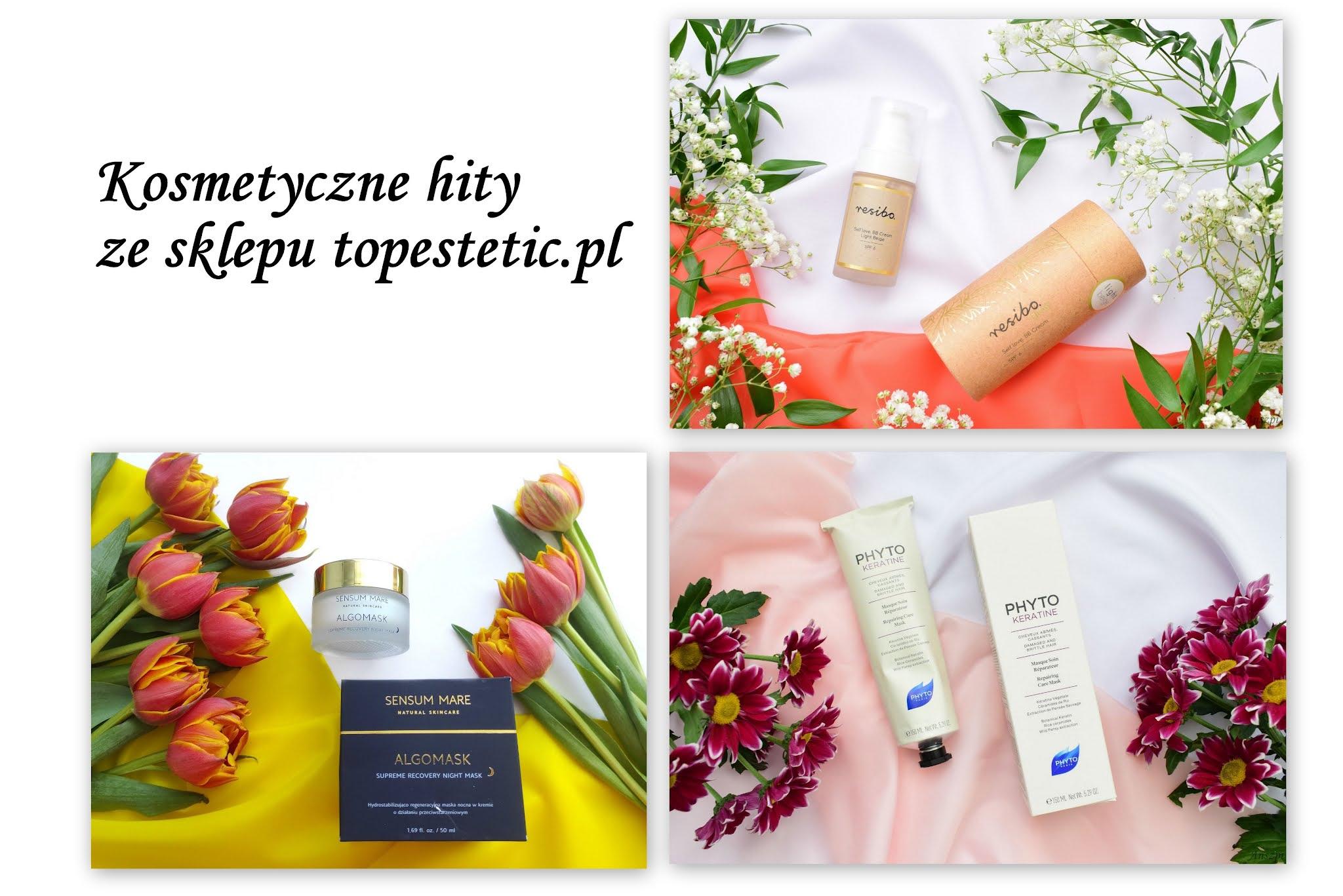 TOP 3 ulubionych kosmetyków ze sklepu internetowego Topestetic. Dlaczego warto poznać sklep topestetic.pl?