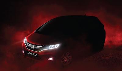 Upcoming Honda Jazz