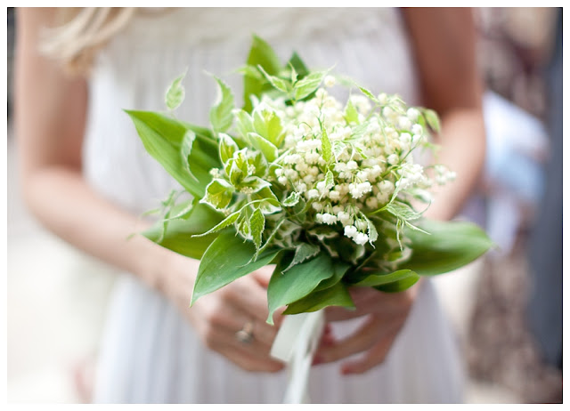 Lily Of The Valley Wedding Bouquet: A Lily-of-the-Valley Wedding Theme