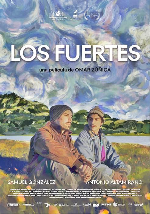 "POSTER PELICULA ""Los Fuertes"" - Chile - 2019"