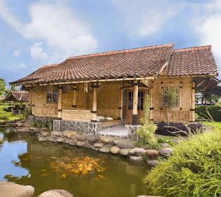 Desain Rumah Bamboo Modern 2016 4