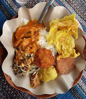 Sego boranan - makanan khas daerah Lamongan