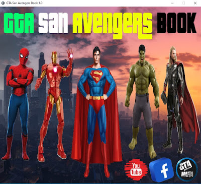GTA San Avengers Book 1.0 Free Download For Pc