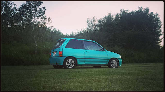 Ian Cassley's Turbocharged Ford Festiva rear