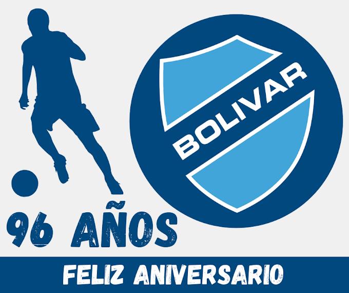 EL CLUB BOLIVAR CUMPLE 96 AÑOS DE VIDA