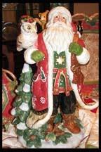 Christmas Lodge Vignette
