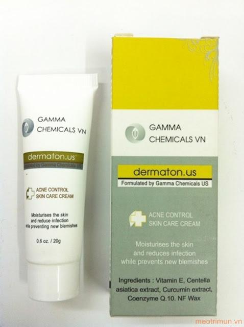 Kem trị mụn gamma chemicals