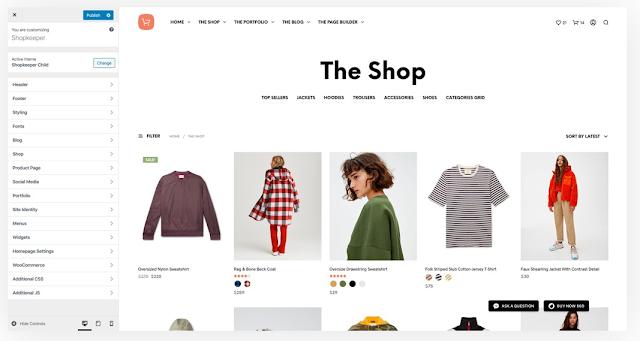 Shopkeeper là một trung những bán chạy hàng đầu trên Themeforest giữ kỷ lục