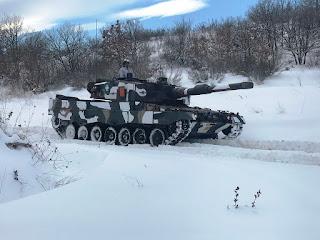 Εκπαιδεύσεις στον χιονισμένο Έβρο