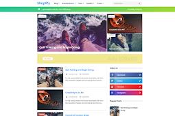 News Simplify 2 Responsive Blogger Template