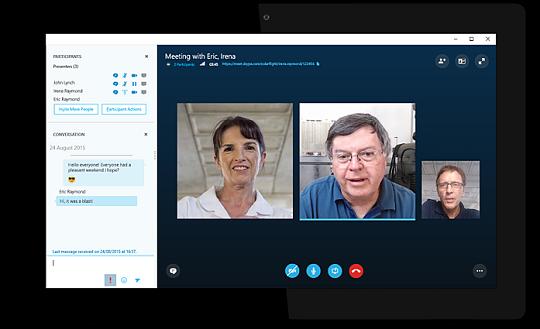 Skype meet