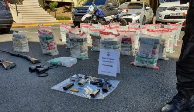 Apresan 16 personas que se dedicaban a enviar drogas a Puerto Rico