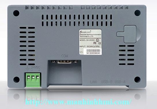 Nhà phân phối, bảng giá đại lý bán màn hình cảm ứng HMI Samkoon 5 inch SK-050AS