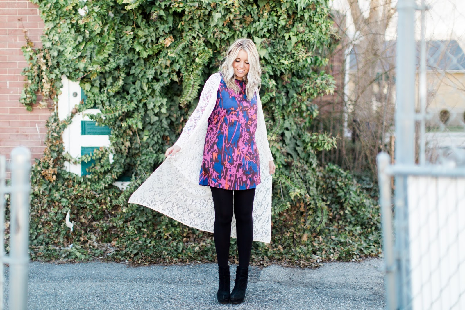 Floral Dress, Choies, Utah Fashion Blogger
