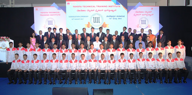 "Toyota's skill excellence program recognized under ""Manufacturing Skill Transfer Promotion Program"", an Indo-Japan Collaboration on Human Development"