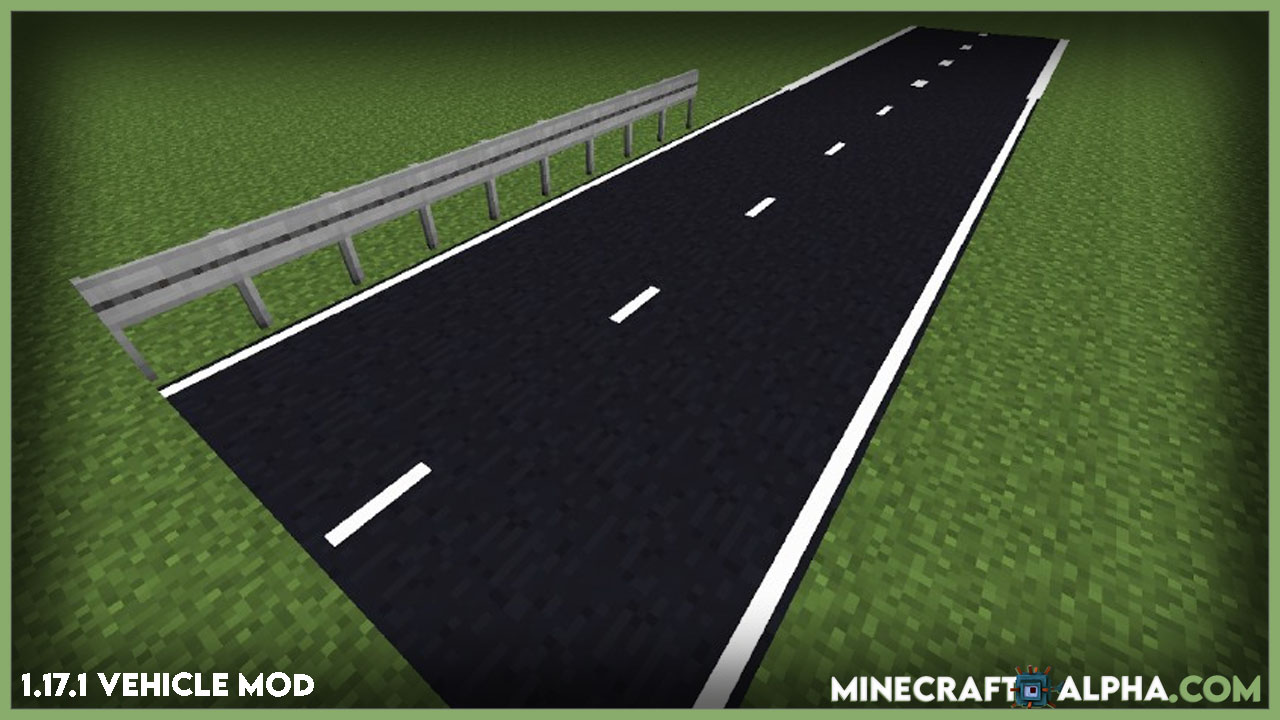 Minecraft Ultimate Car Mod For 1.17.1, 1.16.5 (Design Your Own Streets And Drive In Your Vehicle)