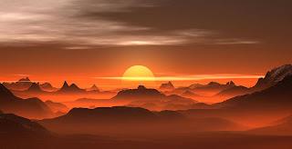 خلفيات غروب الشمس جميلة جدا