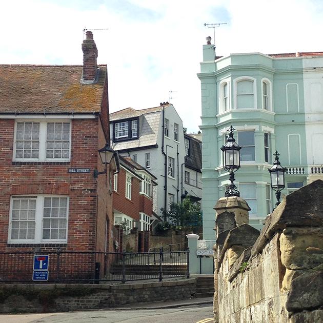 old town in hastings houses