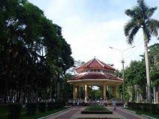 Parque Nguyen Du - Haiphong (Vietnam)