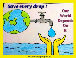 water conservation images for drawing