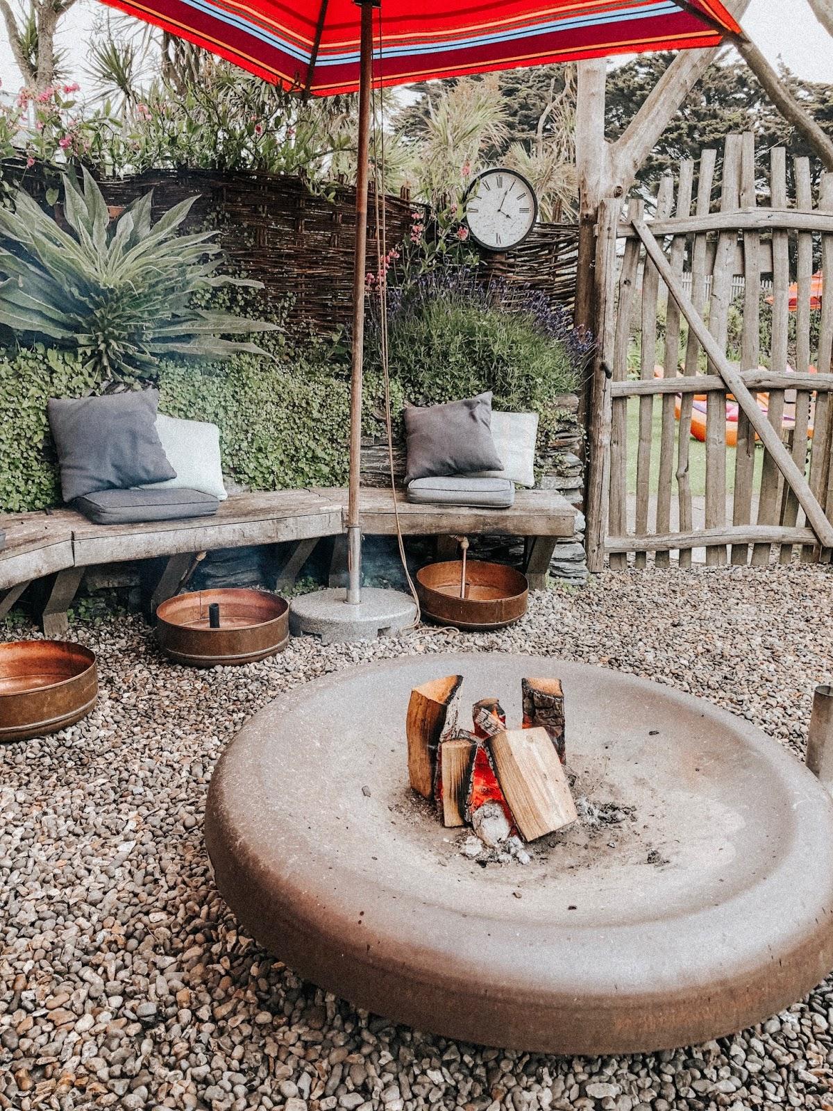 Mawgan Porth Beach, Cornwall Holidays, bedruthan Hotel & Spa, luxury stay cornwall, family holidays cornwall, Sensory Spa Garden