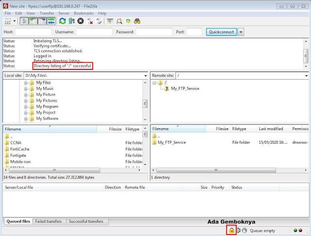Secure vsftpd di Centos 8 Server