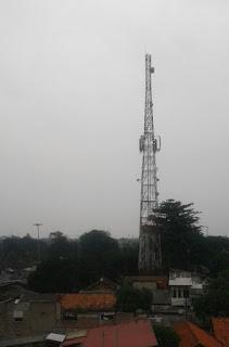 efek menara tower seluler bts bagi kesehatan manusia