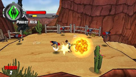 Ben 10 Alien Force Vilgax Attacks Game - Download Full ISO/CSO Free