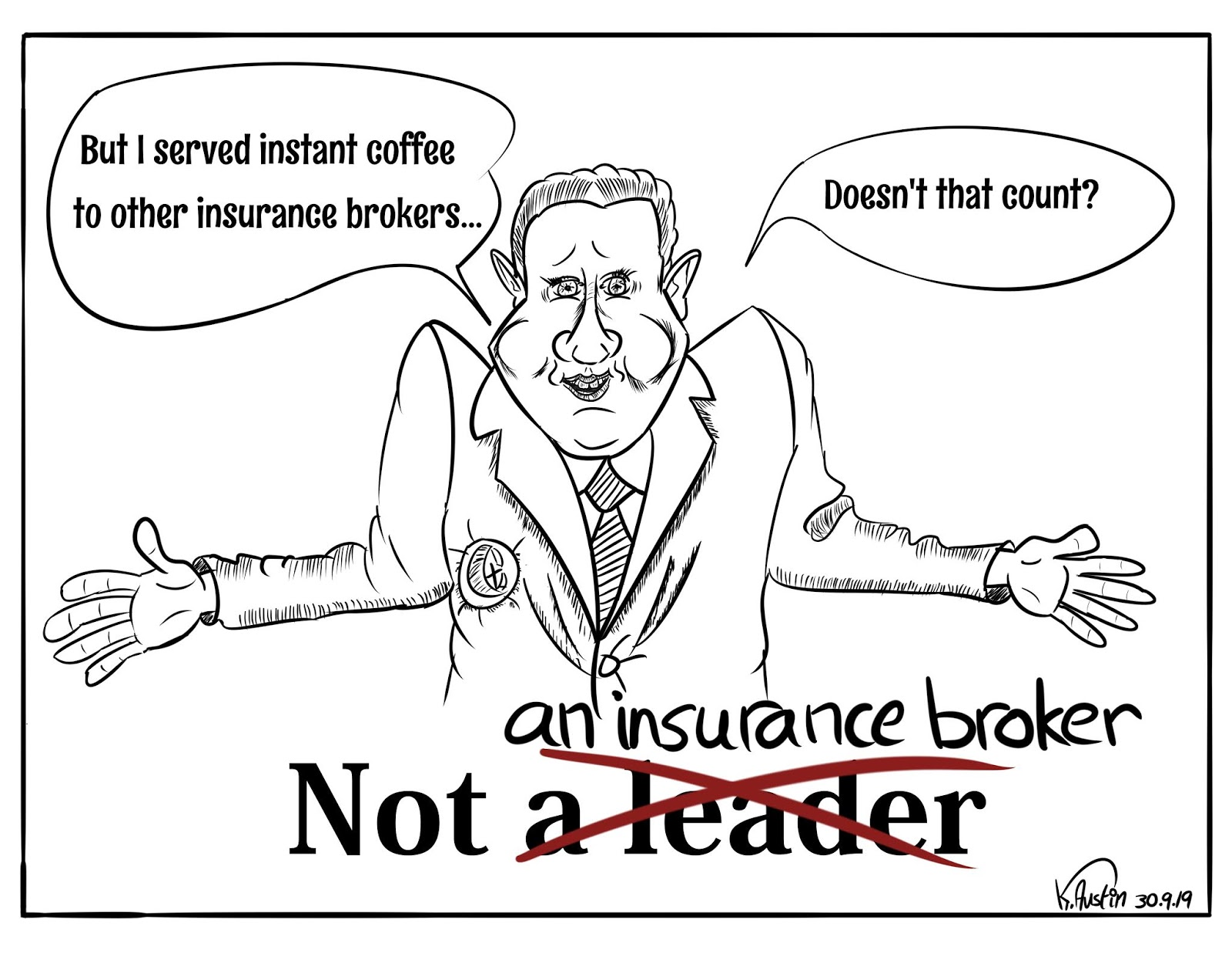 Freak's Own: Not an Insurance Broker