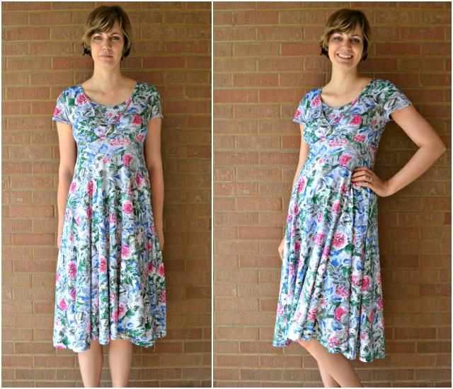 27b3caca5f84 Floral Nursing Dress • Heather Handmade