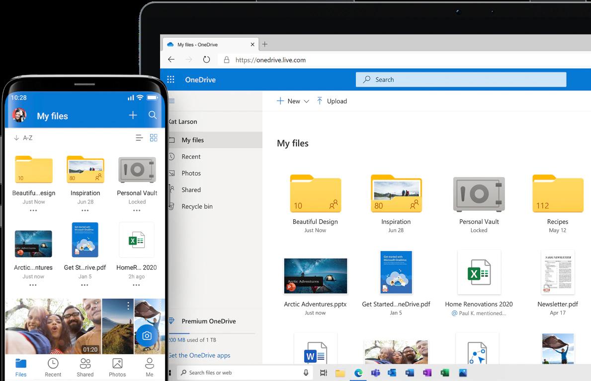 OneDrive ottiene la Sincronizzazione differenziale per tutti gli account
